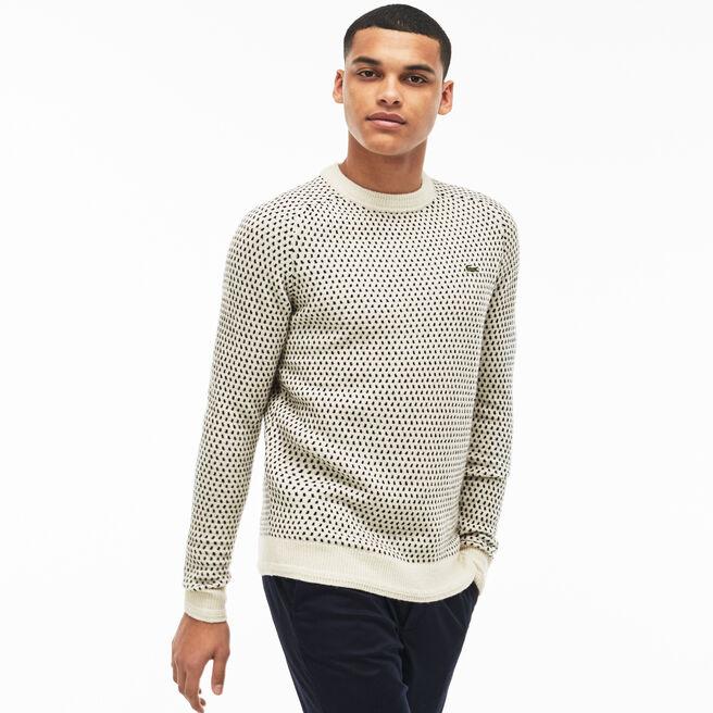jumpers knitwear men 39 s fashion lacoste. Black Bedroom Furniture Sets. Home Design Ideas