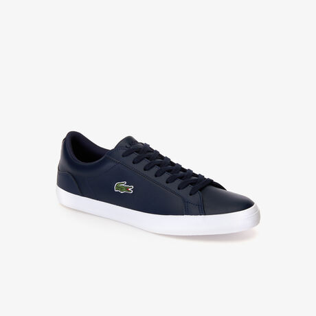 Men's Lerond Monochrome Leather Sneakers