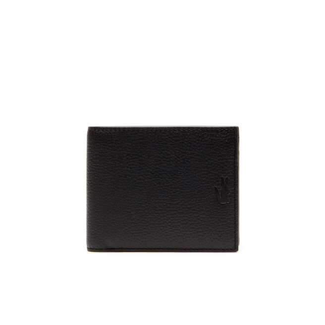 Men's Rafael Leather Three-Card Wallet - Large Format