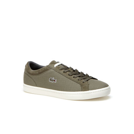 Men's Straightset Canvas And Suede Sneakers