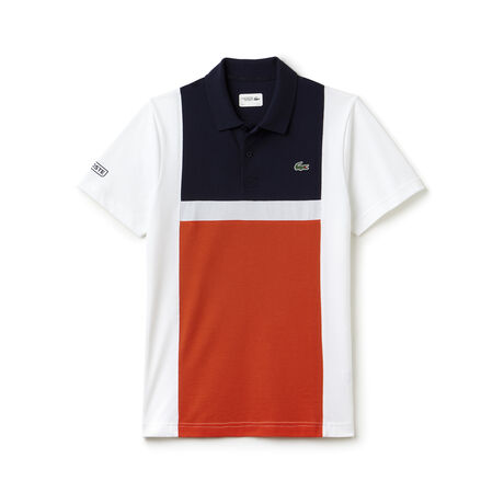 Men's Lacoste SPORT Tennis Colorblock Ultra-Light Cotton Polo