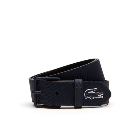 Men's L.12.12 Concept Tongue Buckle Monochrome Belt