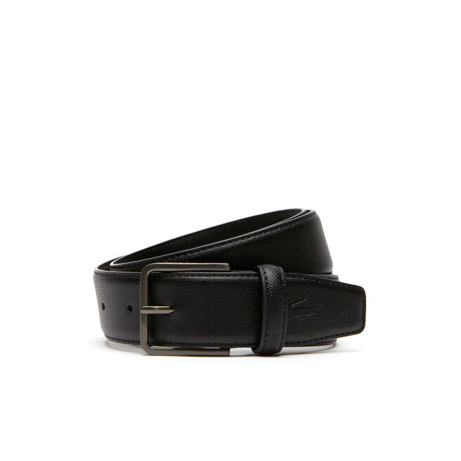 Men's Classic Fine Piqué Belt With Rolling Tongue Buckle