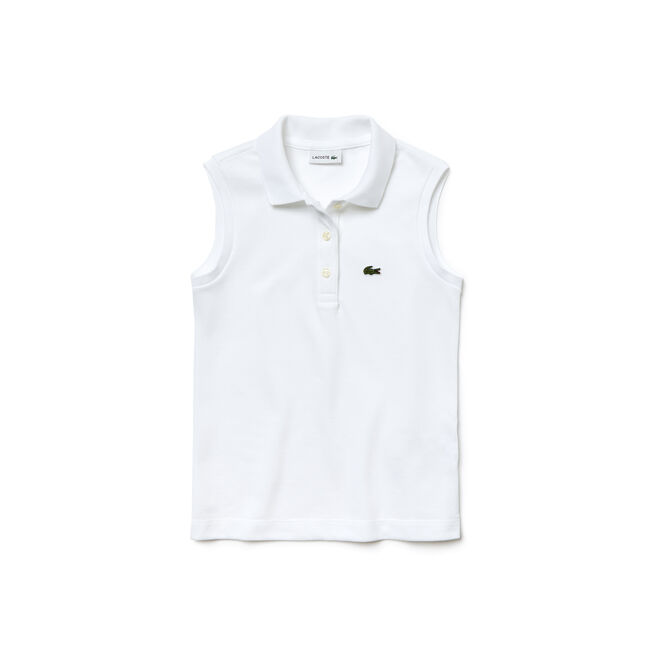 Girls' Piqué Polo