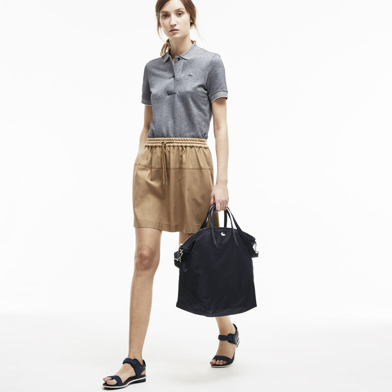 L.12.12 CONCEPT Nylon zippered travel tote bag | LACOSTE