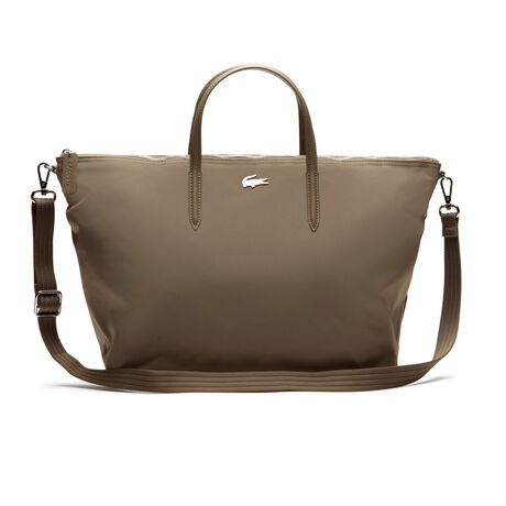 L.12.12 CONCEPT Nylon zippered tote bag - large format | LACOSTE