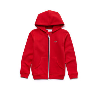 Kids Zip-up hooded sweatshirt in fleece