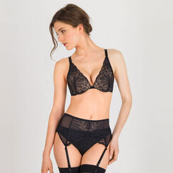 Black Suspender Belt – Refined Glamour-WONDERBRA