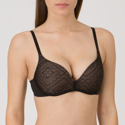 Black wireless Push-up Bra – Ultimate Silhouette Lace-WONDERBRA