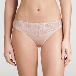 Iridescent Nude Tanga - WONDERBRA - Exclusive Collection
