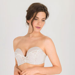 Ivory white Ultimate Strapless Bra - Refined Glamour-WONDERBRA