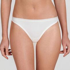 Ivory basic Thong - WONDERBRA - New Basic Bottoms