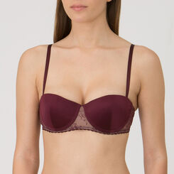 Purple Balconette Push-up Bra – Luxe Collection-WONDERBRA