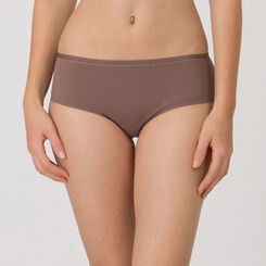 Invisible Mocha Short - Ultimate Silhouette Plain-WONDERBRA