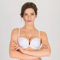White Full Effect Push-up Bra – Ultimate Silhouette Plain-WONDERBRA