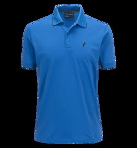 Golftröja i tekniskt material för herrar